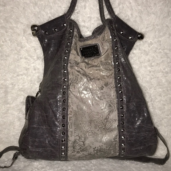 03b33c95d5a Ed Hardy Bags   Don Designs Shouldercrossover Bag   Poshmark